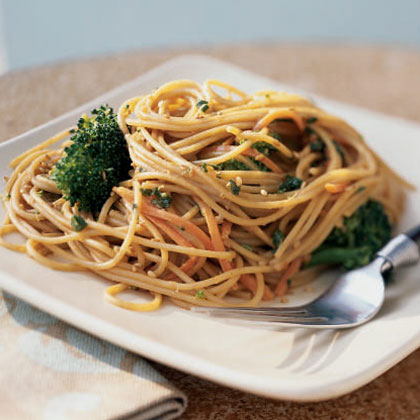 Sesame Noodles with BroccoliRecipe