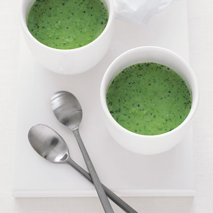 Chilled Sweet Pea and Watercress SoupRecipe