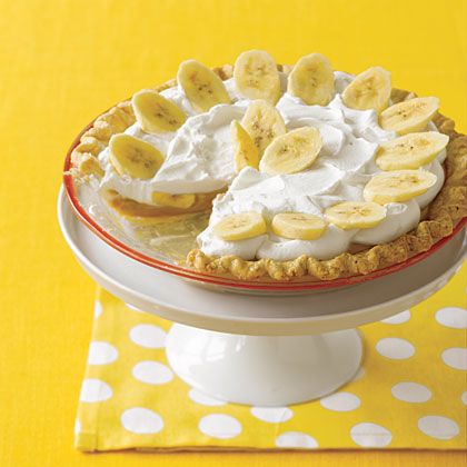 Dulce de Leche Banana Cream PieRecipe
