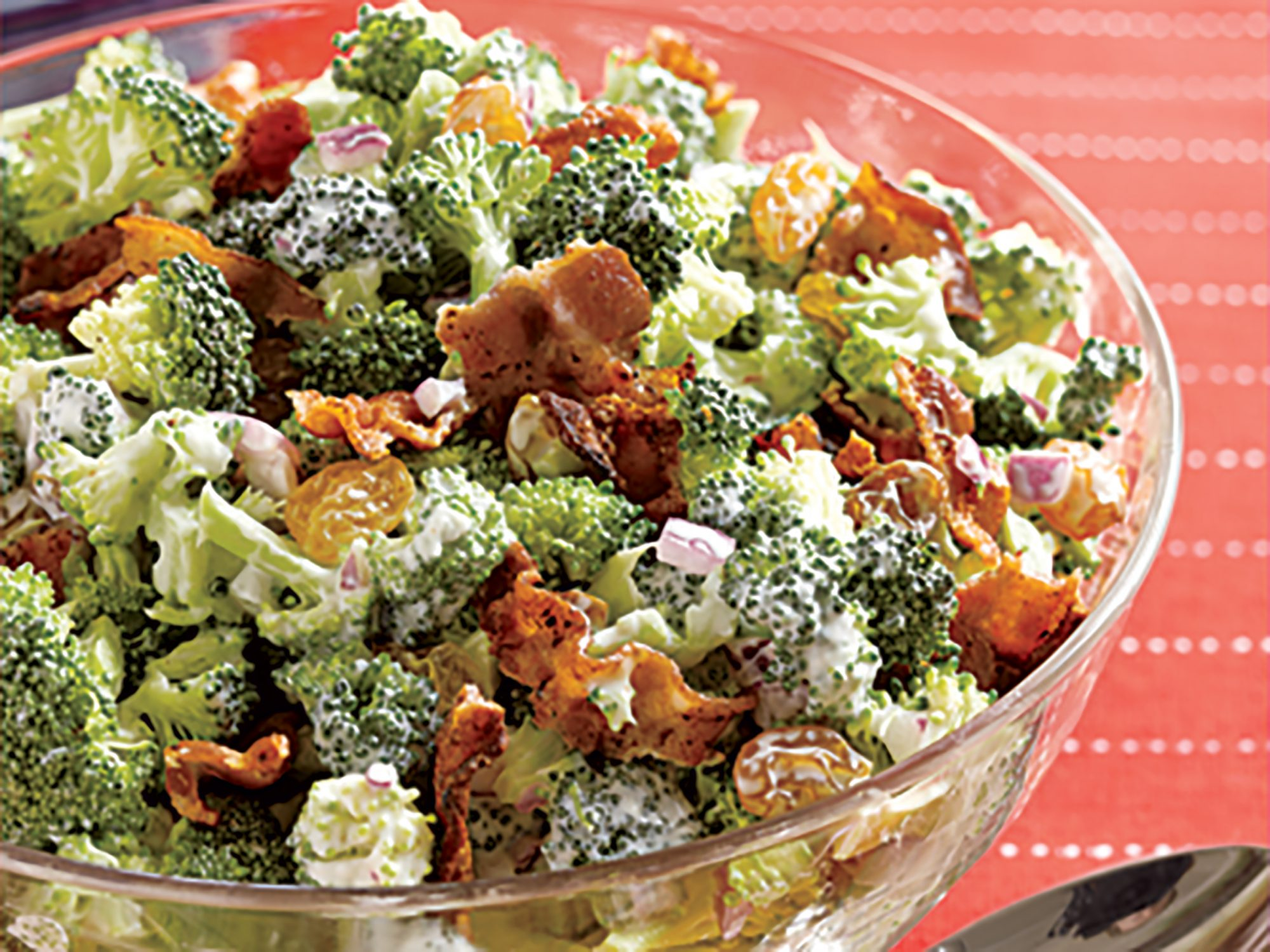 Crunchy Broccoli Slaw