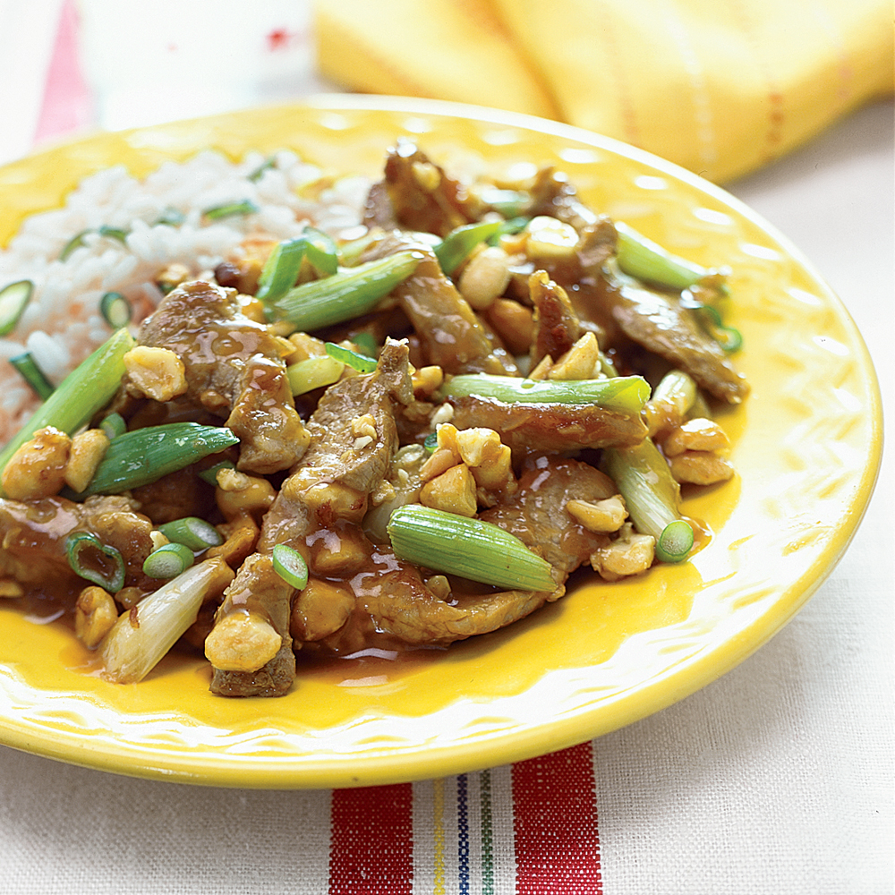 Pork and Peanut Stir-Fry