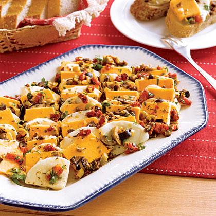 Tangy Marinated Cheese Recipe