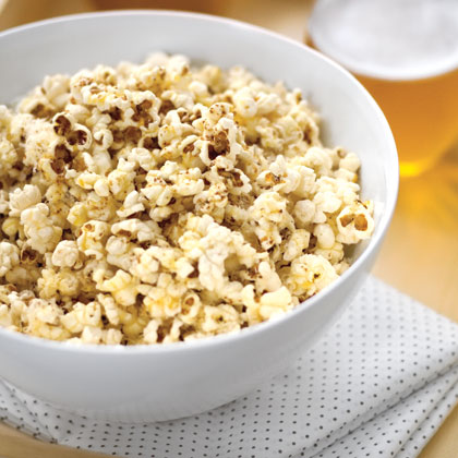 Popcorn with Brown Butter and ParmesanRecipe