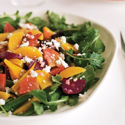 Roasted Beet Salad with Oranges and Queso Fresco (Ensalada de Betabel) Recipe