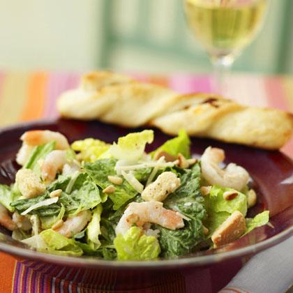 <p>Shrimp Caesar Salad</p>