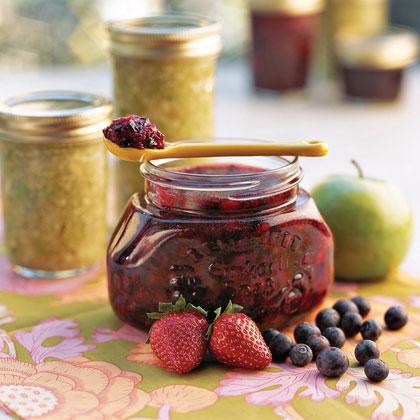 Double Berry Freezer Jam Recipe