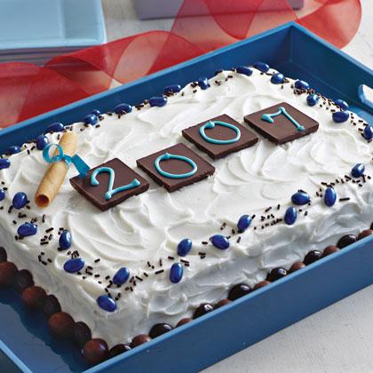 Graduation Cake Decorations Recipe Myrecipes
