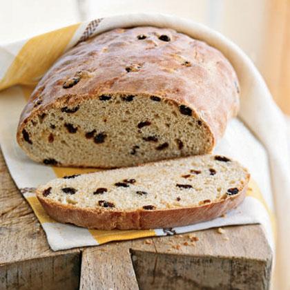 Raisin-Honey Milk Bread