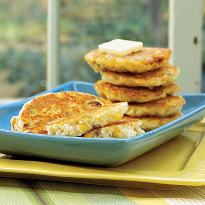Chile-Corn Griddle Cakes Recipe