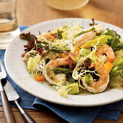 Shrimp and Asparagus SaladRecipe