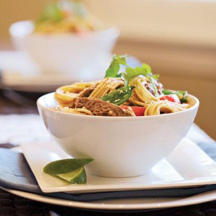 Sticky Noodle Bowl