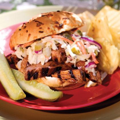 Uptown Barbecue Sandwich