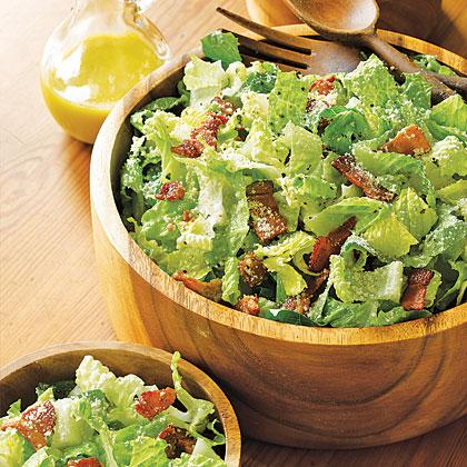 Bacon Caesar Salad Recipe