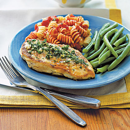Herb-Parmesan Chicken Breasts Recipe