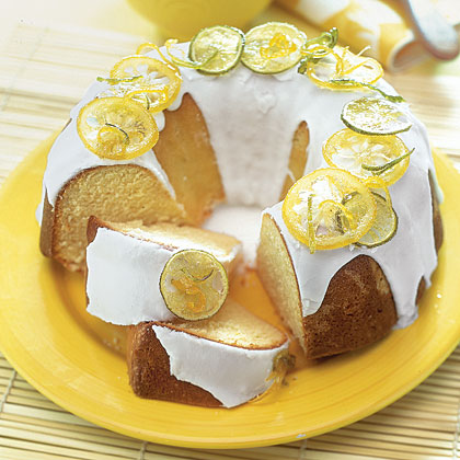 Lemon-Lime Pound Cake Recipe