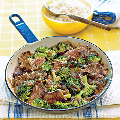 Orange Beef and Broccoli Stir-fry Recipe