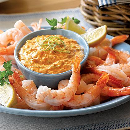 Shrimp with Rémoulade