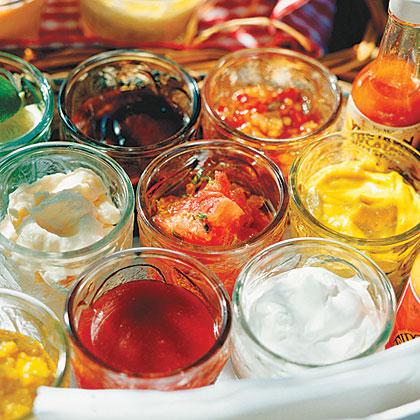 Red-pepper sauce: