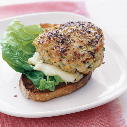 Turkey Burgers with Grated Zucchini and Carrot Recipe ...