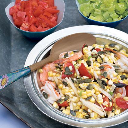 Shrimp and Corn Salad Recipe