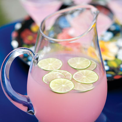 Pink Lemonade RecipeDress up store-bought pink lemonade with lime wedges for an easy, party-friendly drink idea.