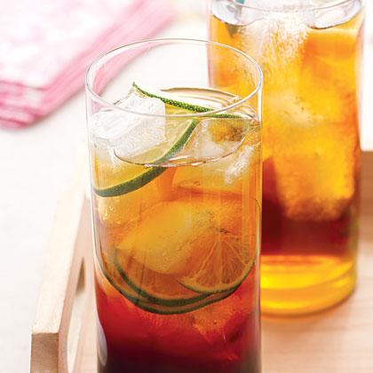 Pomegranate and Lime Iced TeaRecipe