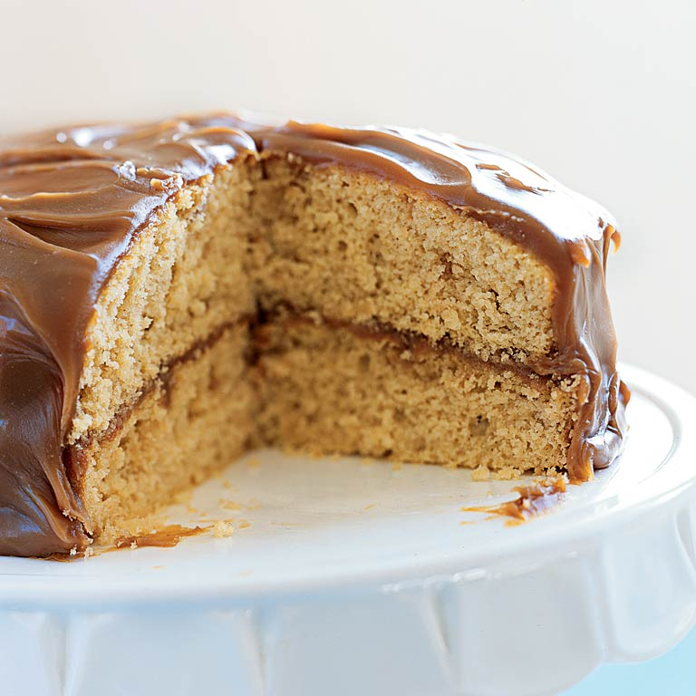 Caramel Layer Cake Recipe Myrecipes