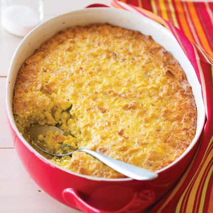 Santa Fe Corn Pudding