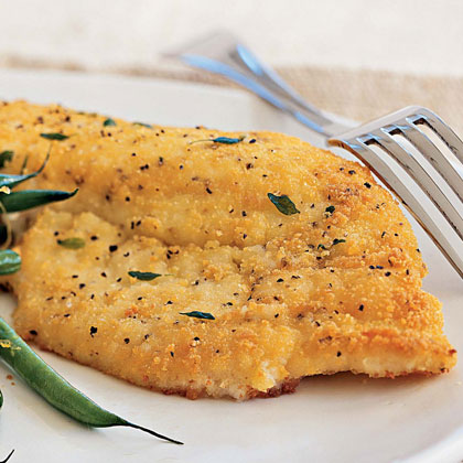 Potato-Crusted Yellowtail Snapper Recipe