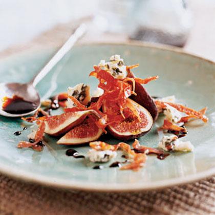 Fig, Prosciutto, and Gorgonzola Salad Recipe   MyRecipes
