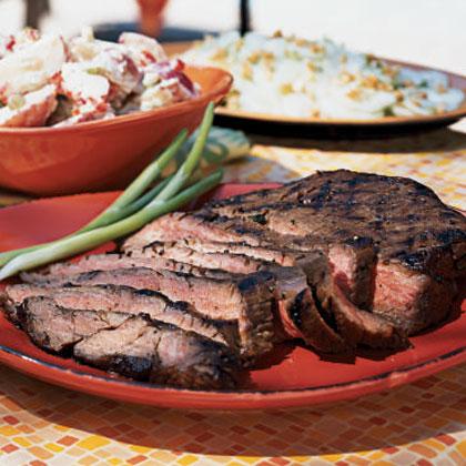 Polynesian Flank Steak