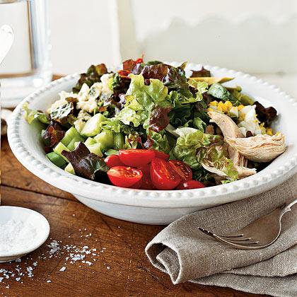 Layered Cobb Salad Recipe | MyRecipes
