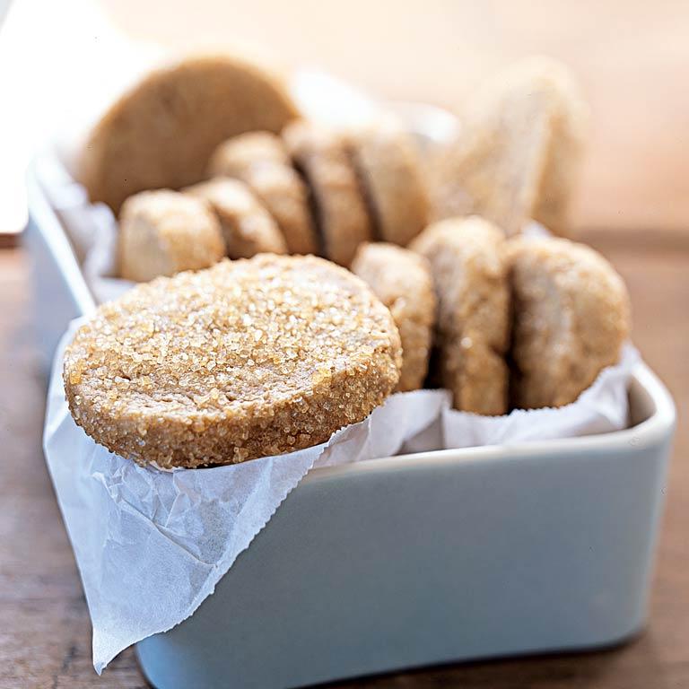 Brown Sugar-Pecan Shortbread