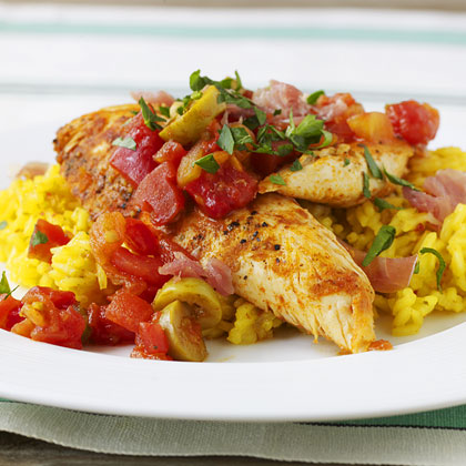 Spicy Basque-Style Chicken