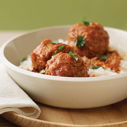 Stuffed Chipotle Meatballs Recipe | MyRecipes