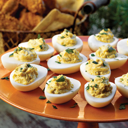 Spicy Southwestern Deviled Eggs