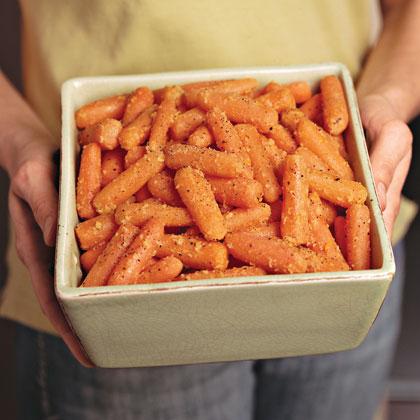 Orange-Ginger-Glazed Carrots