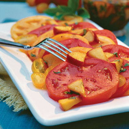 Fresh Peach-Basil VinaigretteRecipe