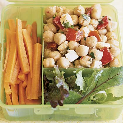 Chickpea Salad with Cumin Vinaigrette
