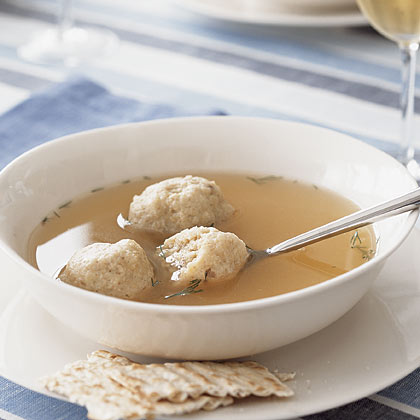Bertha's Matzo Ball Soup