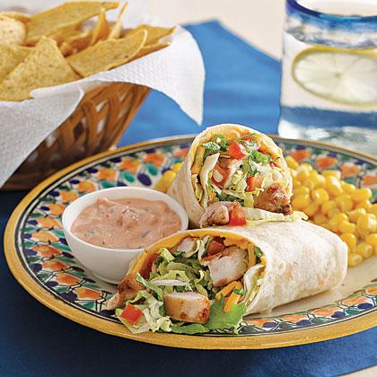 Mexican Chicken Wrap