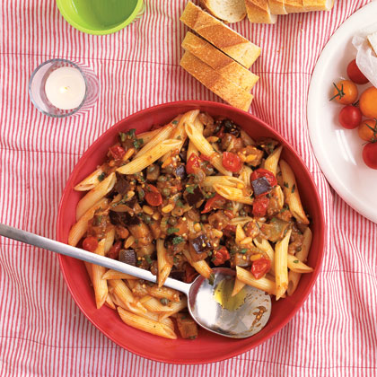 Eggplant Pasta SaladRecipe
