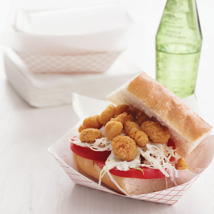 Quick Shrimp Po' Boy Recipe