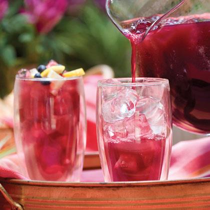 Blueberry Lemon Iced Tea Recipe Myrecipes Com
