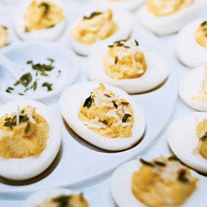 Truffled Deviled Eggs Recipe