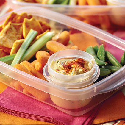 Rosemary-Parsley Hummus Recipe