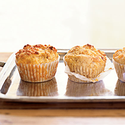Bacon-Cheddar Corn Muffins Recipe