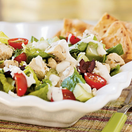 Herbed Greek Chicken SaladRecipe