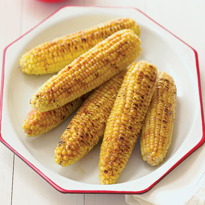 Honey-Chipotle Grilled Corn