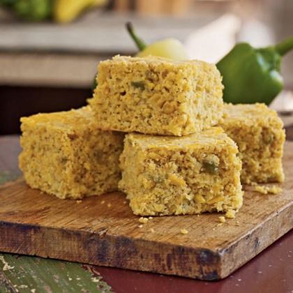 Chile-Cheese Corn Bread